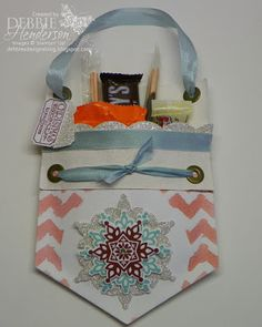 Debbie's Designs: 12 Days of Christmas Treat Holders-Day 6!