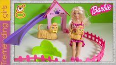 Barbie y su Parque de Perritos - Barbie juguetes en español Toys - Barbie