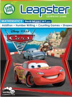 Kindercomputer LEAPSTER LEAPFROG SPIEL Disney Pixar Cars GUT !!! !!