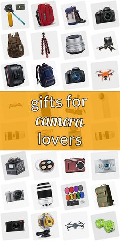 Are you looking for a gift for a photograpy lover? Stop searching! Read our huge list of presents for phtographers. We have cool gift ideas for photographers which will make them happy. Finding gifts for photographers doenst need to be tough. And do not have to be costly. #giftsforcameralovers Blue Grey Weddings, Gifts For Photographers, Cool Gifts, Searching, Presents, Lovers, Gift Ideas, Cool Stuff, Happy