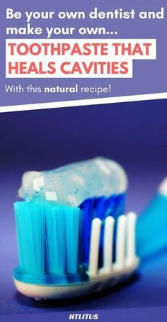 Heal your cavities, gum diseases and more with this natural home made recipe!