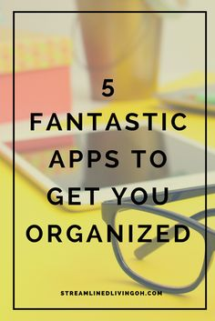 From getting ready for a trip to loyalty cards, there's an app out there to make your life less cluttered and more organized! Check out 5 fantastic apps you should download and start using right now!
