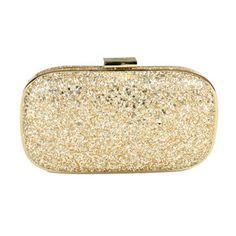 A lovely Golden clutch Gold Clutch, Sparkles Glitter, Anya Hindmarch, Net A  Porter ce958e057f