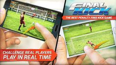 Final kick: Online football v5.3 (Mod Money/Vip/Ads-Free) Apk Mod  Data http://www.faridgames.tk/2017/03/final-kick-online-football-v53-mod.html