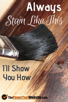 Staining your wood projects is a great way to get a darker, richer tone for your craft or piece of furniture. Staining is one of the woodworking techniques you should master early on, it will come in handy. Read my staining wood tips to see just how easy Woodworking Finishes, Learn Woodworking, Woodworking Patterns, Woodworking Skills, Easy Woodworking Projects, Popular Woodworking, Woodworking Techniques, Woodworking Furniture, Woodworking Plans