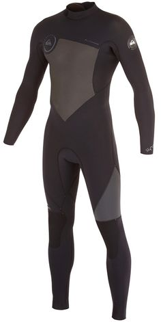The 4/3mm men's Quiksilver Syncro wetsuit deliveres high end features at a value price. The suit used 100% FN Lite neoprene - super stretchy and light weight.