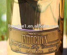 Armand De Brignac Champagne Brut Ace Of Spades 750ML,spades shaped metal stickers,gold armand de brignac champagne bottle label