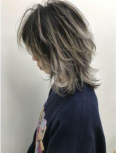 Pin on 髪型 Cut My Hair, Hair Cuts, Hair Inspo, Hair Inspiration, Medium Hair Styles, Curly Hair Styles, Mullet Hairstyle, Hair Color Streaks, Shot Hair Styles