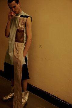 blankforblack:  Backstage at Rick Owens SS15 | Dazed Photography Lea Colombo