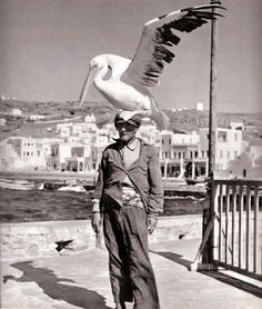 The most famous island of the Aegean and the heart of the Cyclades. Mykonos is not just another Mediterranean destination, but a meeting point of the Mykonos Island, Mykonos Greece, Old Time Photos, Old Pictures, Myconos, Greece Photography, Greek Statues, Greek Gods, Black And White Photography