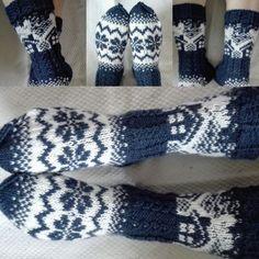 Mökkisukat Wool Socks, Knitting Socks, Norwegian Knitting, Stocking Tights, Drops Design, Fingerless Gloves, Arm Warmers, Mittens, Tricot