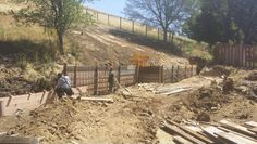 #concrete #retainingwall work.. Bay area