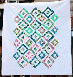 summer in the park quilt. by see kirsten sew, via Flickr Missouri Star Quilt Company quilt design