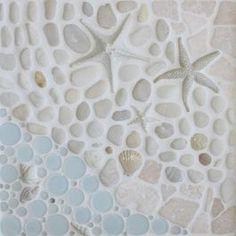 Bathroom tile for beach house