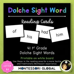 First Grade Sight Word Spelling Lists, Posters & Google Slide Flash Cards Second Grade Sight Words, Sight Word Spelling, Pre Primer Sight Words, Sight Words List, Spelling Lists, Dolch Sight Words, Third Grade, First Grade Lessons, First Grade Activities