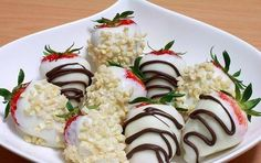 Strawberry and chocolates!