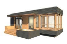 miniHome: SOLO 24 - exterior rendering. www.sustain.ca