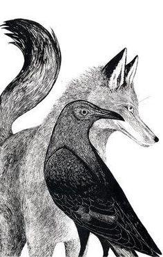 SYDNEY MCCASLIN. Fox & Crow book cover