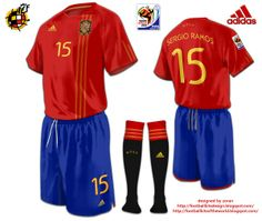 Spain World Cup 2010 fantasy home