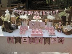 "Photo 36 of 47: Pink cowgirl / Birthday ""Ashtyn's Outdoor Cowgirl Party"" 