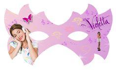 Máscara de Violetta para Imprimir Gratis. | Ideas y material gratis para fiestas y celebraciones Oh My Fiesta!