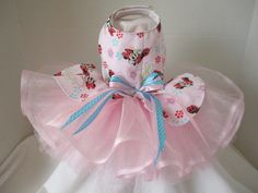 Dog Dress XS Pink By Nina's Couture by NinasCoutureCloset