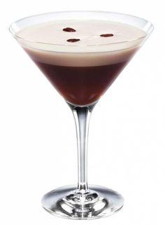 Cocktail recipe for a Espresso Martini made with 1 oz cold oz Absolut® oz Kahlua® coffee oz white creme de cacao White Russian, Martini Recipes, Cocktail Recipes, Shake, Kahlua Coffee Liqueur, Smoothies, Espresso Martini, Best Espresso, Espresso Coffee