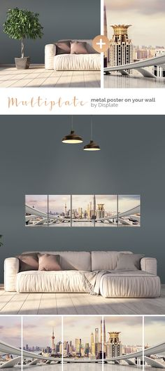 Change your interior in just a few moments! Beautiful Shanghai cityscape printed on several metal plates. Click through to see more large size artworks on metal! Decor, Contemporary Interior Design, Decor Design, Pretty House, Home Decor Items, Eclectic Furniture, Home Furniture, Interior Design, Home Decor