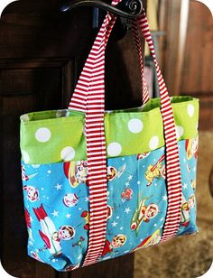 cute tote bag tutorial