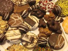 Learn the art of chocolate making with dipped chocolates and enjoy all the seasons with Brown Bite