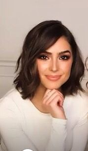 Lob Hairstyle, Work Hairstyles, Wedding Hairstyles, Inspo Cheveux, Olivia Culpo Hair, Short Hair Cuts, Short Hair Styles, Celebrity Short Haircuts, Hair Trim