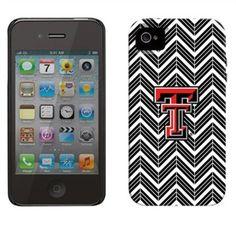 Texas Tech Red Raiders Chevron iPhone 4 Vibe Case - Black