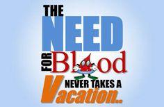 Summer Blood Donation Campaign Kicks Off July 1
