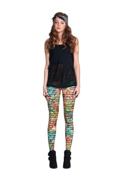 Bricks Leggings: http://shop.nylonmag.com/collections/whats-new/products/bricks-leggings #NYLONshop