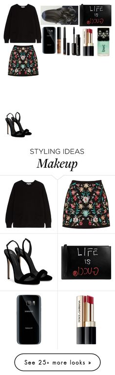 """Untitled #2339"" by hayescamcaniff on Polyvore featuring Gérard Darel, Giuseppe Zanotti, Gucci, Samsung, NYX, NARS Cosmetics, Beauty Is Life and Dolce&Gabbana"