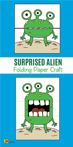 10 Surprise Expressions - My Pin Projects For Kids, Diy For Kids, Art Projects, Crafts For Kids, Fun Crafts, Arts And Crafts, Paper Crafts, Up Book, Teaching Art