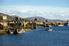 Uros Islands, Peru - City of Straw