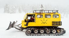 Last week, Outside reported that Yellowstone National Park is auctioning off most of its old Snowcats. Thinking of buying one? We reached out to someone who already does to ask what it's like owning and using his 1974 Thiokol Spryte 1200c.