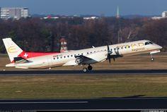 Saab 2000, Etihad Regional, HB-IYI, cn 016, first flight 24.3.1995 (Deutsche BA), Etihad Regional delivered 23.1.2014.His last flight 9.4.2016, flight Billund - Berlin. Foto: Berlin, Germany, 8.12.2016.