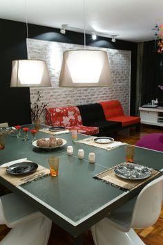 Sala de Jantar - Projeto de Ana Paula Magalhães