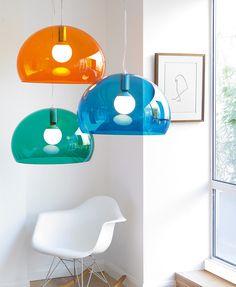 DESCUENTOS - OFERTAS - OUTLET Lámpara colgante de diseño. Gran presencia... de dimensiones contundentes y estilo vintage. #iluminación #decoración