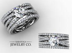 So custom, yet so simple. #Custom #Ring