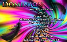 A little 70's Dominion style...