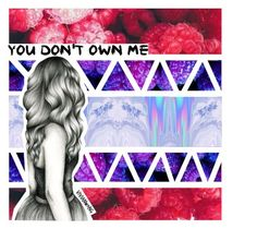 """""""You Don't Own Me"""" by gabriella-houck ❤ liked on Polyvore featuring art"""