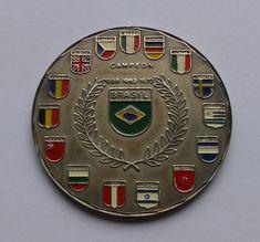 FIFA World Cup 1970 Medal   Copa Mundial de Fútbol México 70 a5a668748ec