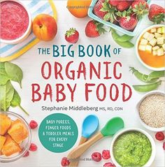 The Big Book of Organic Baby Food: Baby Purees, Finger Foods, and Toddler Meals for Every Stage: Amazon.de: Stephanie, MS Rd Cdn Middleberg: Fremdsprachige Bücher