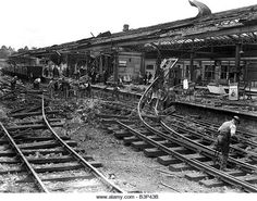 Newton Abbot, Destruction, Railroad Tracks, Cool Stuff, City, Image, War, Germany, Cities