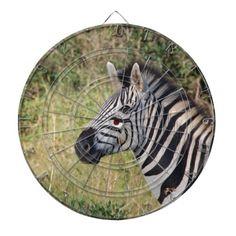 Zebra Stripes Animal African Safari Destiny Dart Board