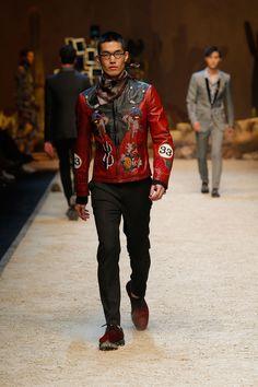 Dolce&Gabbana Fall-Winter 2016/2017 Men's Fashion Show. #SicilianWestern www.dolcegabbana.com