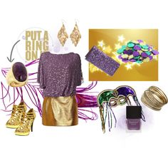Mardi Gras Party outfit for Mardi Gras (What to wear - Mardi Gras)